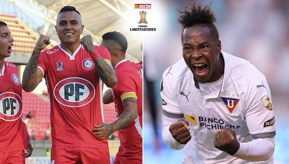 Unión La Calera vs. LDU se enfrentan mañana a partir de las 21:00 por la primera fecha de la fase de grupos de la Copa Libertadores.
