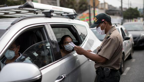 Ciudadanos podrán usar vehículos particulares. (Foto: Anthony Niño de Guzmán)