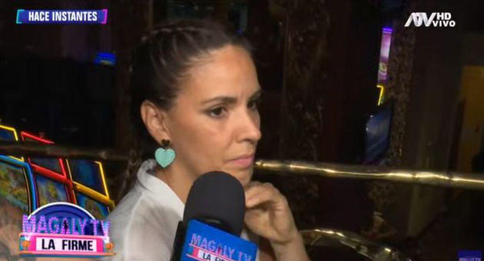 Blanca Rodríguez habló de Tilsa Lozano. (Imagen: ATV)