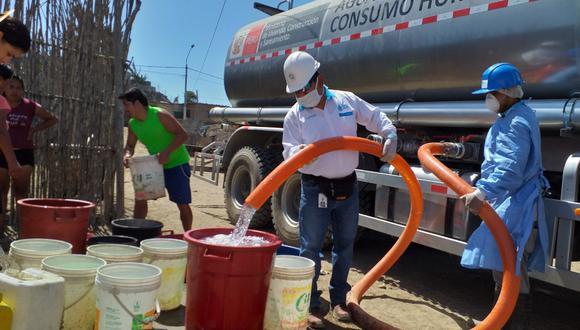 Se busca asegurar la provisión de agua potable para diversas localidades en el país que se encuentran en aislamiento social, con el objetivo de garantizar las medidas de higiene. (OTASS)