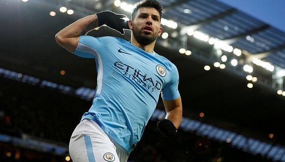'Kun' Agüero y el histórico récord con Manchester City