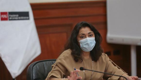 Esta conferencia de prensa estará liderada por la presidenta de Consejos de Ministros, Violeta Bermúdez, quien detallará las medidas implementadas por el Gobierno. Foto: @pcmperu