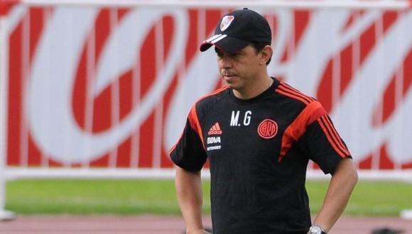 Marcelo Gallardo no entrena con River Plate por sospecha de contagio de COVID-19.