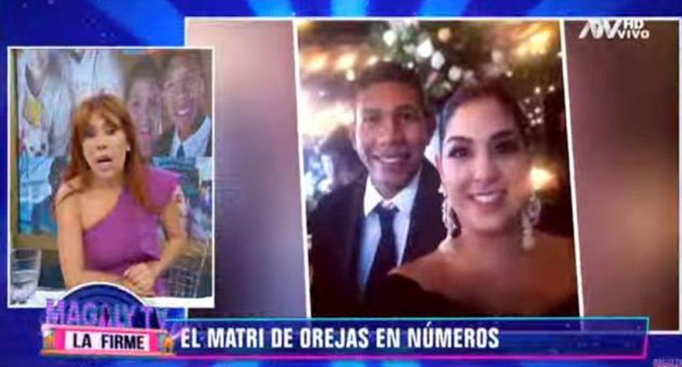 Magaly Medina se refirió al matrimonio de Edison Flores y Ana Ana Siucho. (Imagen: ATV)