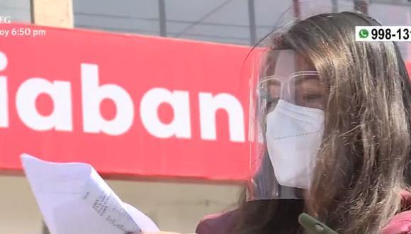 Walter Torres denuncia que retiraron S/35.316,37 de su cuenta bancaria. (Captura: América Noticias)