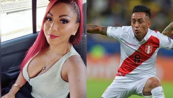 La vedette reveló que Christian Cueva la invitó a Brasil para la Copa América.