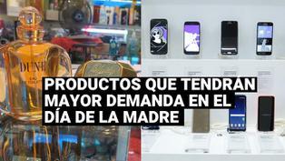 ¿Cuáles son los productos con mayor demanda por internet para el Día de la Madre?