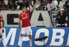 Paolo Guerrero le dio el triunfo 1-0 a Inter en el Brasileirao, así se vivió su gol a ras de cancha   VIDEO