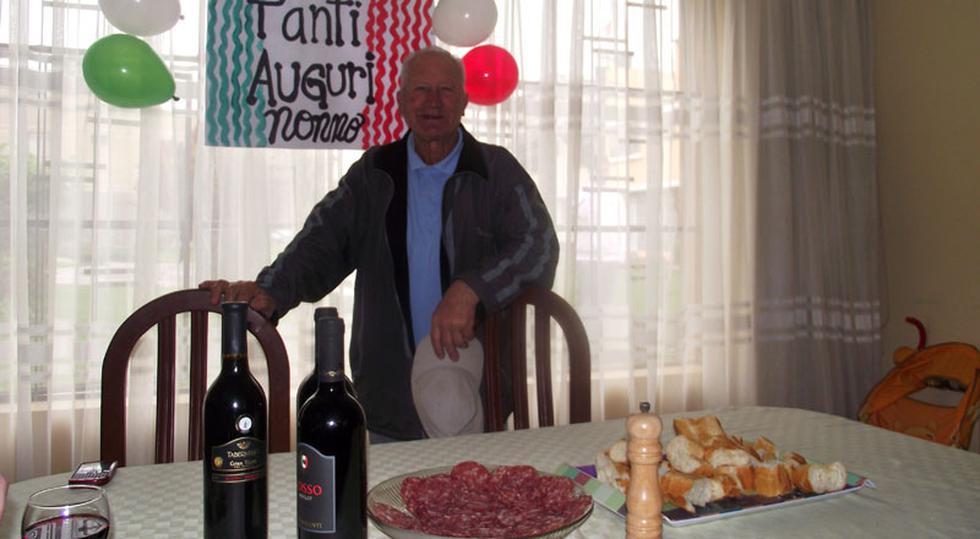 Que los cumpla feliz: Papá de Flavio Maestri celebró cumpleaños