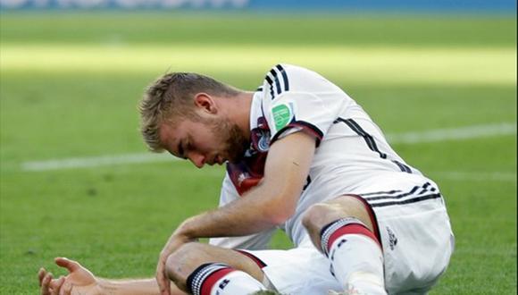 Alemania vs Argentina: Christoph Kramer no sabía que estaba en la final tras fuerte golpe