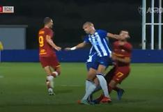Pepe y una fuerte entrada contra Mkhitaryan que provocó un conato de bronca   VIDEO