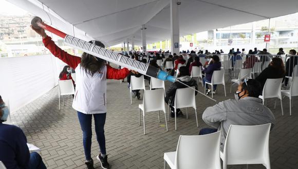 COVID-19: este jueves se inició vacunación a personas de 36 a 37 años en Lima, Callao, Ica y Lima Región. (Foto: Eduardo Cavero / GEC)