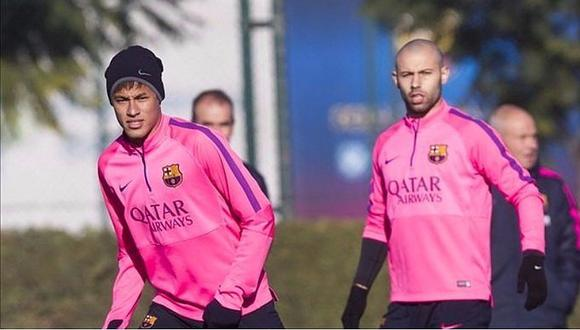 Barcelona: esto dice Mascherano sobre posible partida de Neymar
