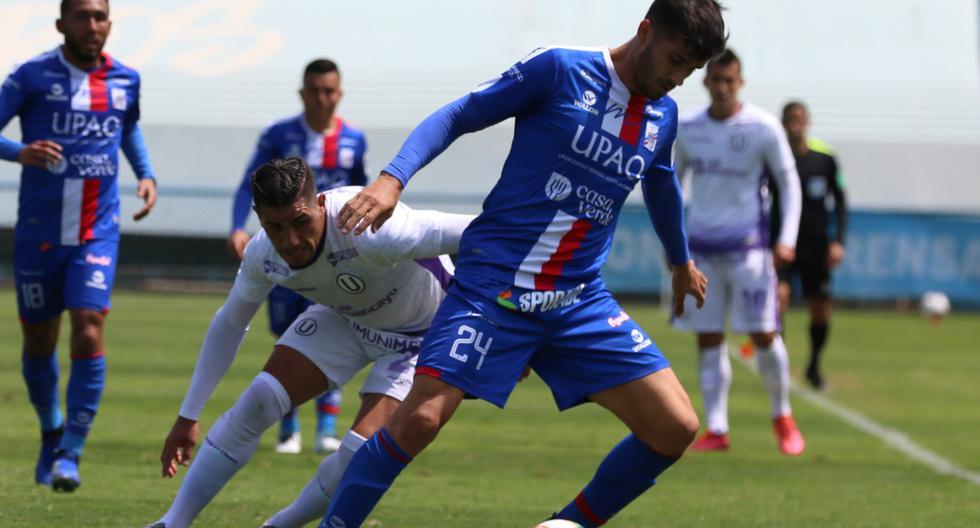 Universitario empató 2-2 con Carlos A Manucci y sigue líder de la Liga 1 [RESUMEN]