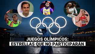 Tokio 2020: estas son las leyendas que se perderán los Juegos Olímpicos
