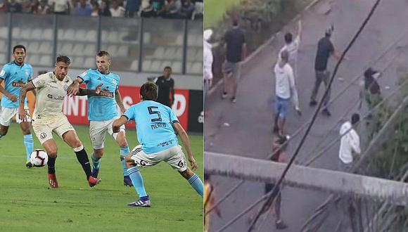 Universitario vs. Sporting Cristal: barristas crean terror en Jesús María y La Victoria