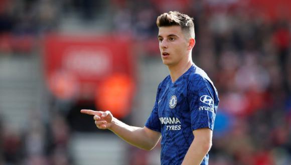 Mason Mount fue visto jugando fútbol pese a la orden de cuarentena del Chelsea. (Foto: Agencias)