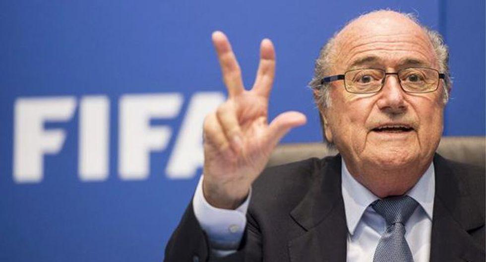 Joseph Blatter aclara que no tiene nada que ver en los actos de corrupción en la FIFA