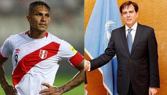 """Embajador peruano que ayudará a Paolo Guerrero: """"Hay un problema de tiempo"""""""