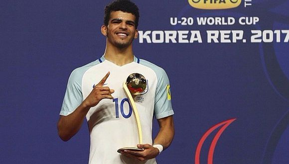 Mundial Sub 20: Dominic Solanke fue elegido Balón de Oro  [FOTO]