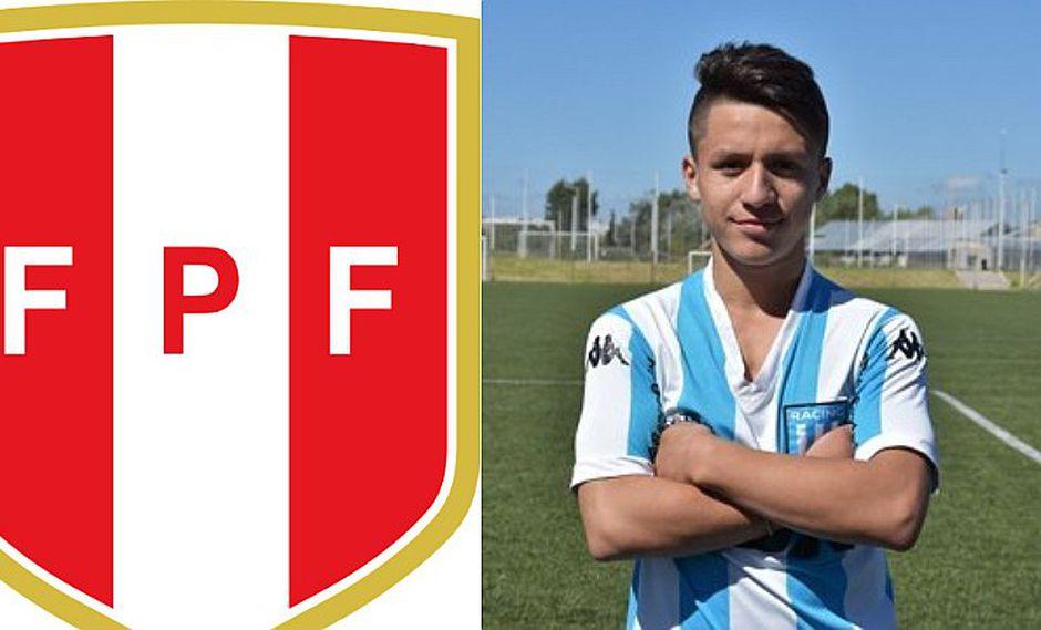 Selección peruana | FPF convoca a juvenil que la rompe en Racing de la Superliga Argentina