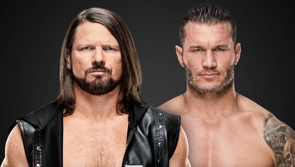 Randy Orton y AJ Styles chocarían en un nuevo combate individual en la próxima entrega del show de la 'marca roja'. (Foto: WWE)
