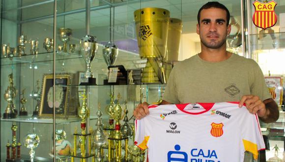 El uruguayo Santiago Pallares tiene 26 años, es refuerzo de Atlético Grau y volvió al fútbol profesional tras ser campeón mundial. Aquí su historia.  (Facebook Atlético Grau)