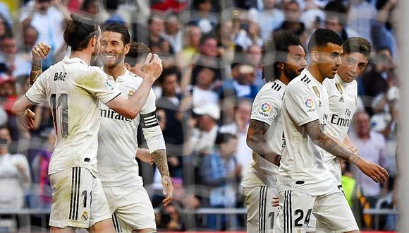En el regreso de Zidane: Real Madrid venció 2-0 al Celta de Vigo en la Liga