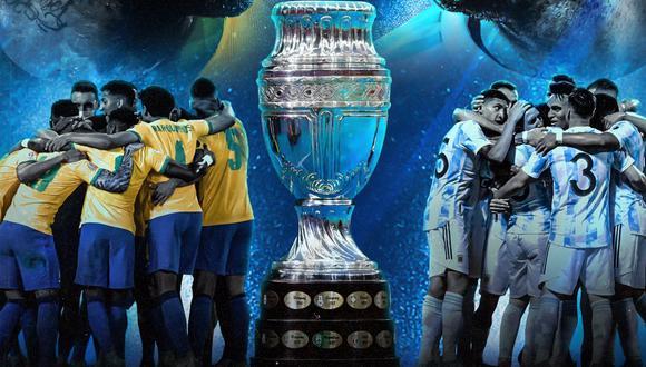 Argentina vs. Brasil en vivo se enfrentan en la Gran Final de la Copa América. Sigue todos los detalles del evento aquí. (Foto: Copa América)