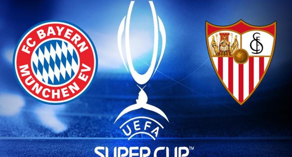 Bayern Munich-Sevilla; en vivo por la Supercopa de la UEFA: horario, canal TV para ver la final