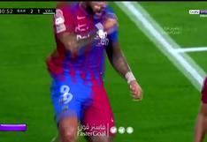 Barcelona vs. Valencia: Memphis Depay marcó el 2-1 con un disparo desde los doce pasos   VIDEO