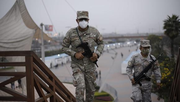 Fuerzas del orden garantizan seguridad en comicios con más de 167 mil miembros de las FF.AA. y la PNP. (Foto: Joel Alonzo/ @photo.gec)