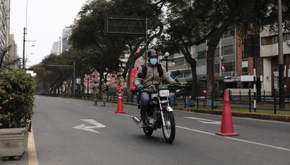 Repartidores deberán contar con SOAT, revisión técnica y demás. También se registrarán a las bicicletas. (Foto: Leandro Britto / GEC)