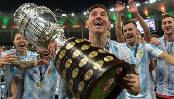 Messi antes había perdido tres finales de Copa América. (Foto: AFP)