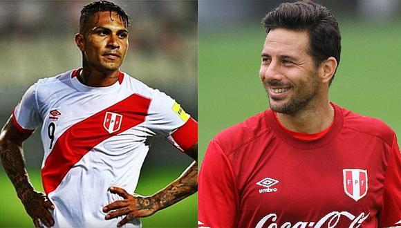 Claudio Pizarro rompió su silencio tras conocer la sanción a Paolo Guerrero [FOTO]