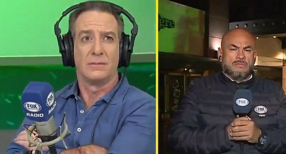 Peter Arévalo y el blooper en vivo que molestó a Eddie Fleischman en la previa del Perú vs. Chile | VIDEO