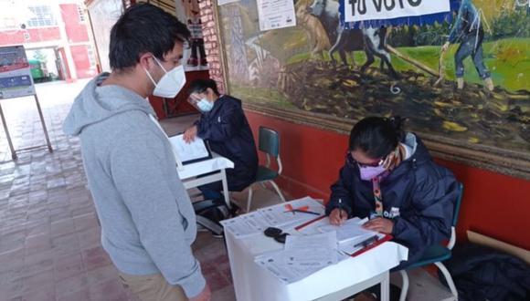 Las elecciones de la segunda vuelta tendrán el mismo horario que el 11 de abril; es decir, de 7:00 a.m. hasta las 7:00 p.m. (Foto: ONPE)