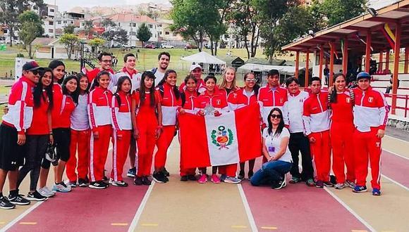 Perú ganó 19 medallas en Sudamericano de Atletismo sub-23
