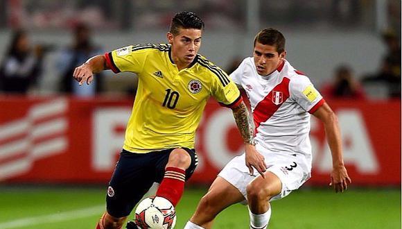 """James Rodríguez: """"Quiero ver a Perú en el Mundial de Rusia"""" [VIDEO]"""