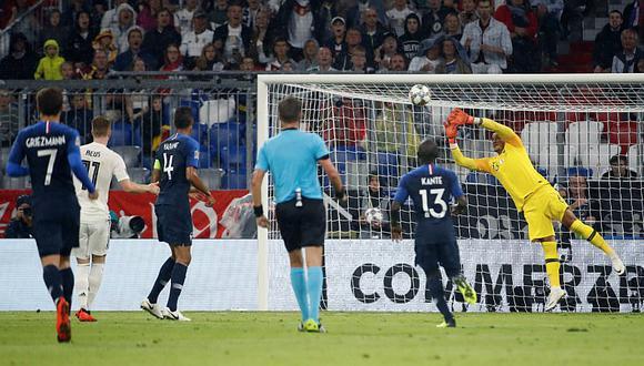 Francia igualó 0-0 ante Alemania por la Liga de Naciones de la UEFAl