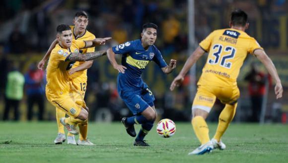 Boca Juniors vs. Rosario Central se miden en la jornada 10 de la Copa de la Liga. (Foto: AFP)