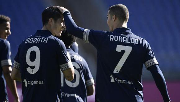 Juventus y Atalanta definirán al campeón de la Copa Italia 2021. (Foto: AFP)