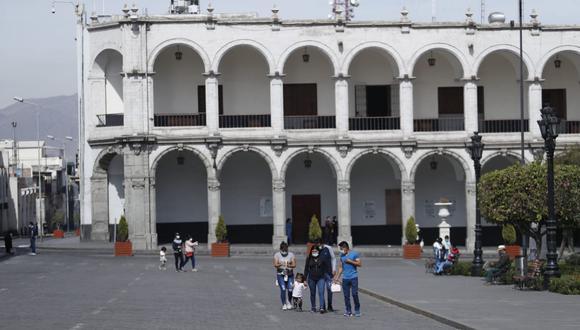 Arequipa es una de las regiones con mayor nivel de incumplimiento de las medidas sanitarias, según han informado las autoridades. (Foto: GEC)