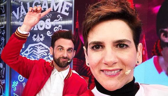 """Rodrigo González y Gigi Mitre presentaron el primer adelanto de su nuevo programa """"Amor y Fuego"""". (Foto: @rodgonzalezl)"""