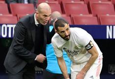 """Zinedine Zidane pidió el Balón de Oro para Karim Benzema: """"Es un jugador que merece ganarlo"""""""