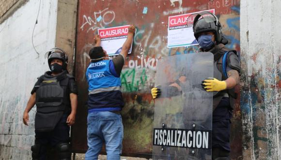 La Municipalidad de Lima multó a los propietarios de los locales. (Foto: MML)