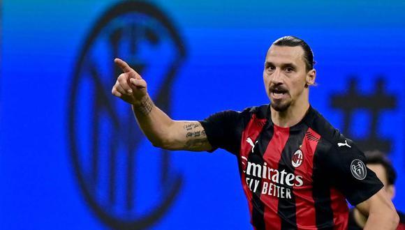 Zlatan Ibrahimovic tiene nueve goles esta temporada con el AC Milan. (Foto: AFP)