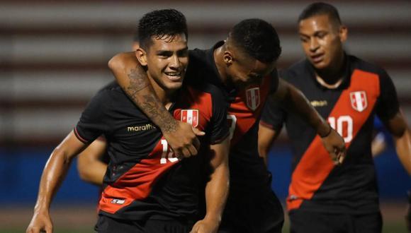 Perú vs. El Salvador se enfrentarán en un partido amistoso preparatorio al Preolímpico Sub 23. (Foto: @SeleccionPeru)