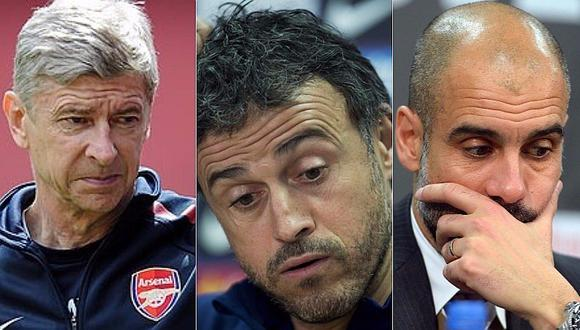 Champions League: Los tres peores técnicos de la temporada