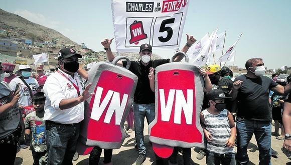 Victoria Nacional confirmó que al igual que César Acuña, apoyará a Keiko Fujimori en la segunda vuelta.